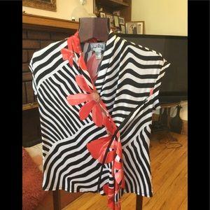 Joseph Ribkoff blouse size XL